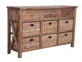 Kast Dressoir 9 x laden